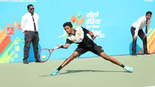 KIYG, the first step in a long journey for tennis star Manish