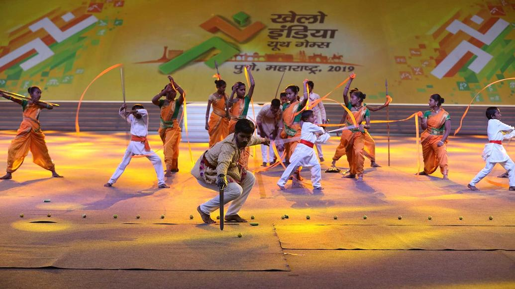 Khelo India Youth Games - Opening Ceremony Pictures